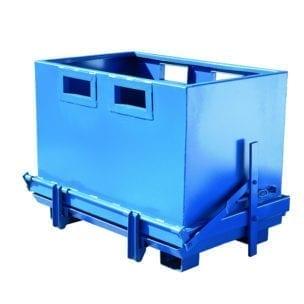 Cityramp Avatava põhjaga konteiner 700L