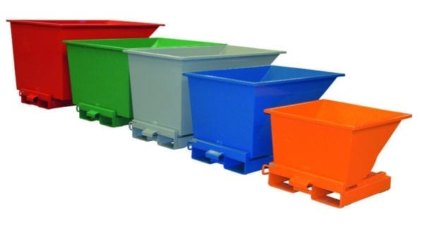 Cityramp Open Tippo container 1100L