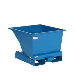 Cityramp Open Tippo container 150L