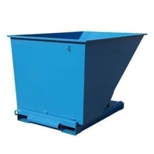Cityramp Avatud kallutav Tippo konteiner 2000L