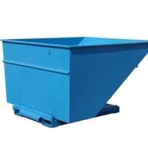 Cityramp Avatud kallutav Tippo konteiner 2500L