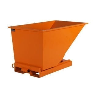 Cityramp Open Tippo containre 300L, orange