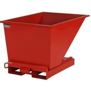 Cityramp Avatud kallutav Tippo konteiner 300L punane
