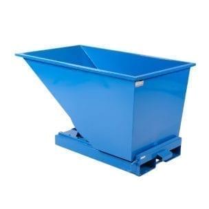 Cityramp Avatud kallutav Tippo konteiner 600L