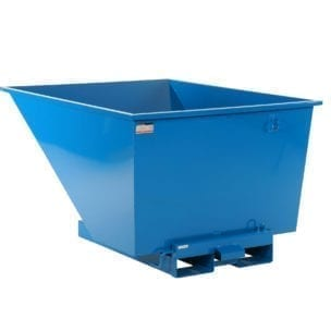 Cityramp Open Tippo container 900L