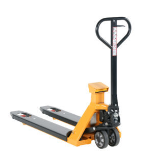 Hand pallet truck whit scale