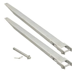 Cityramp Galvanized fork extensions 3000xB150xH60mm