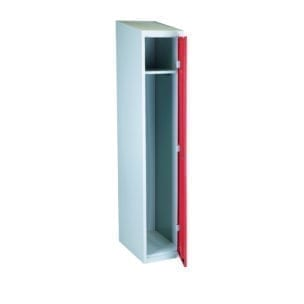 Cityramp garderoobikapp riidekapp 1 uksega punane
