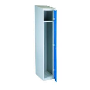 Cityramp garderoobikapp riidekapp 1 uksega sinine