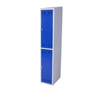 Cityramp garderoobikapp riidekapp 2 uksega väike sinine