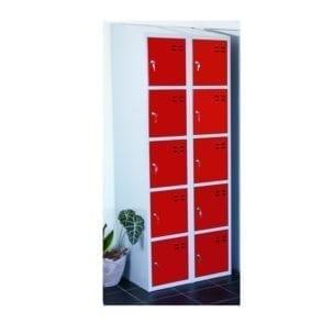 Cityramp hoiukapid 10 uksega punane