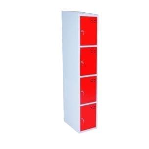 Cityramp hoiukapid 4 uksega punane