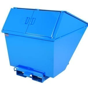 Cityramp High cover Tippo tipping container 1100L