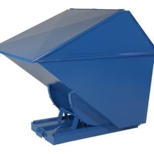 Cityramp Kõrge kaanega kallutav Tippo konteiner 1700L
