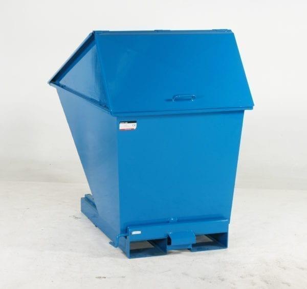 Cityramp Kõrge kaanega kallutav Tippo konteiner 200L