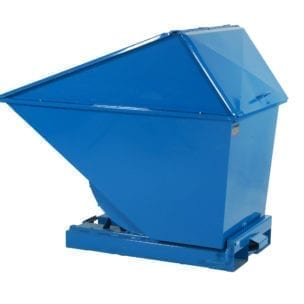 Cityramp High cover Tippo tipping container 400L