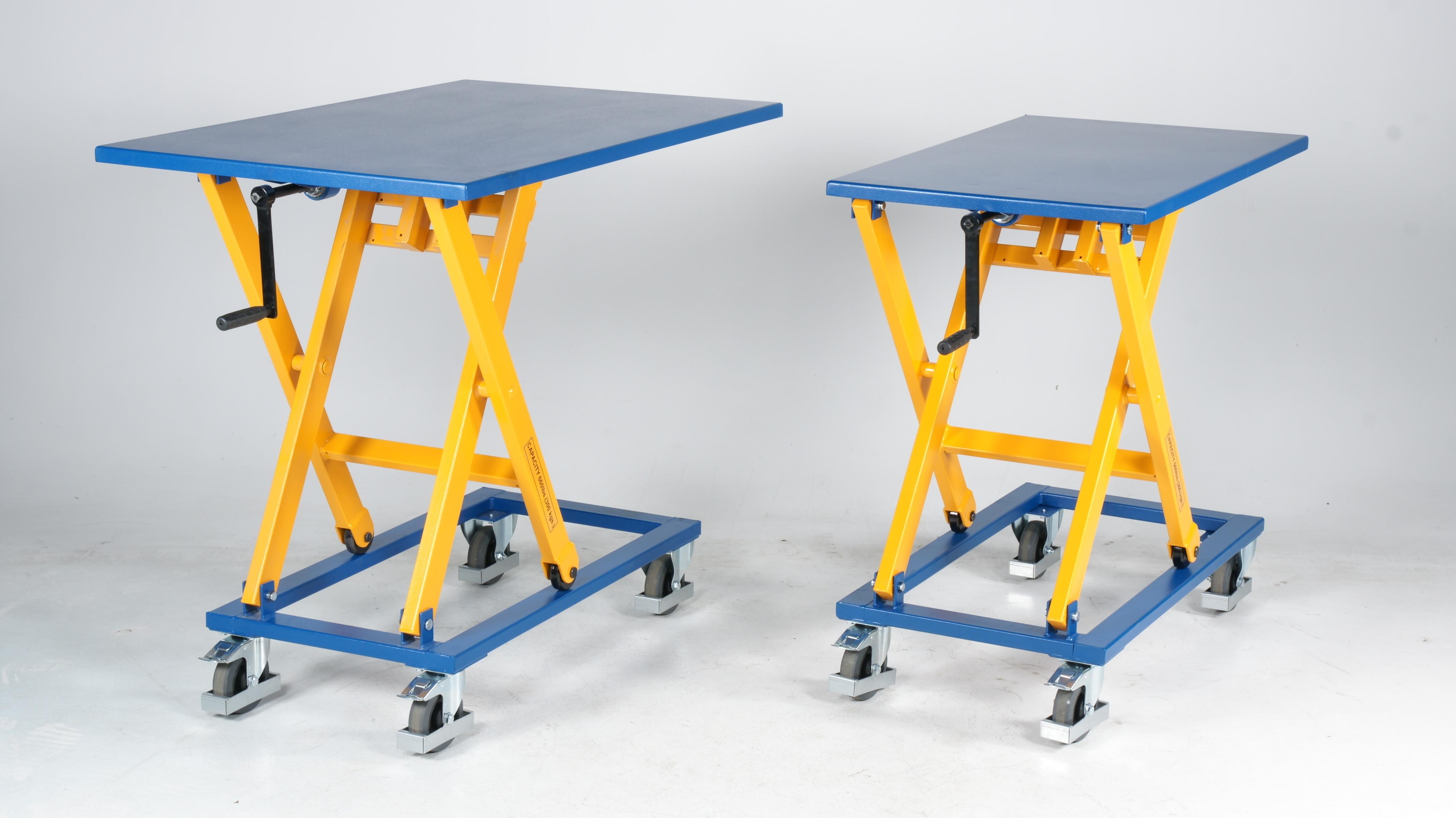 Portabel manual scissor lifting table LB M
