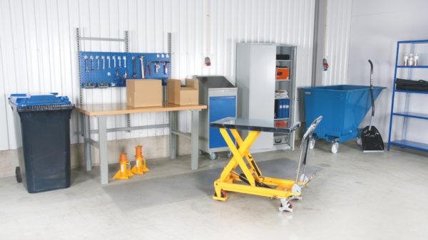 Cityramp Portabel manual scissor lifting table PL 500 LB