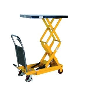 Cityramp Portabel manual scissor lifting table PL 700 TFD