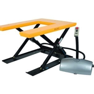 Cityramp Lifting table U-profile