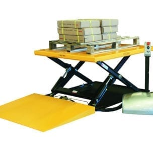 Cityramp Lifting table with ramp