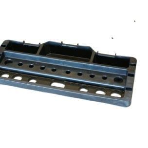 Cityramp Kokkupandava 3 tasapinnaga platvormkäru PV330 tööriista hoidja