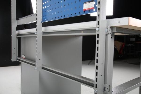 Cityramp komplekteeritud aukplaadid töölaudadele 1600mm