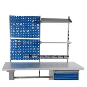 Cityramp komplekteeritud aukplaadid töölaudadele 2000mm