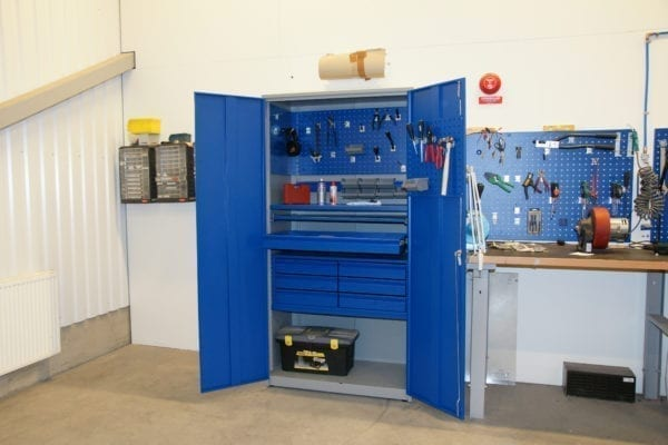 Cityramp Complete strong tool cabinet