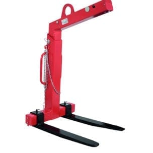 Cityramp Crane fork 3000 kg