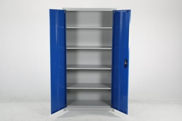Cityramp Steel cabinet Economy blue-grey 1800x900x400mm
