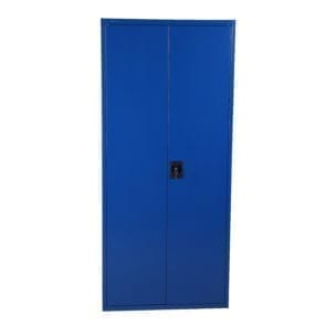 Cityramp Storage lockers and file cupboards SWED180 with 2 doors blue 1800x800x400mm