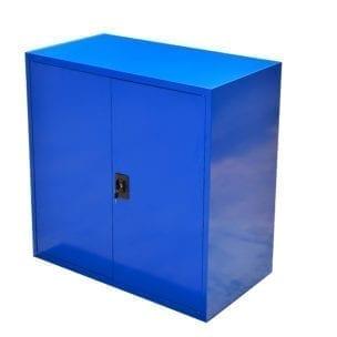 Cityramp Laokapp-arhiivikapp SWED90 kahe uksega sinine 900x800x400mm