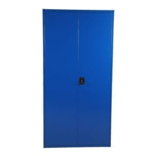 Cityramp Storage lockers and file cupboards SWED3 with 2 doors blue 2000x1000x500mm