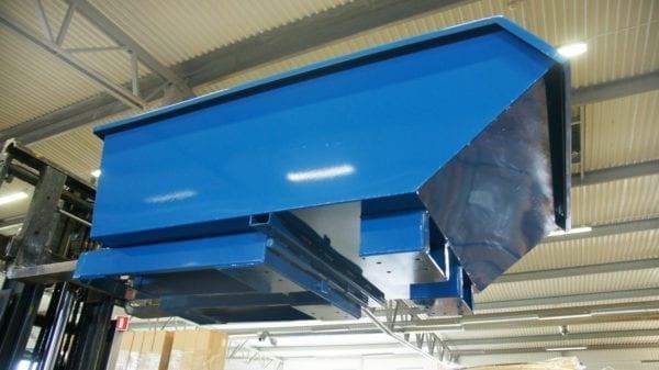 Cityramp Madal kallutav Tippo konteiner 750L
