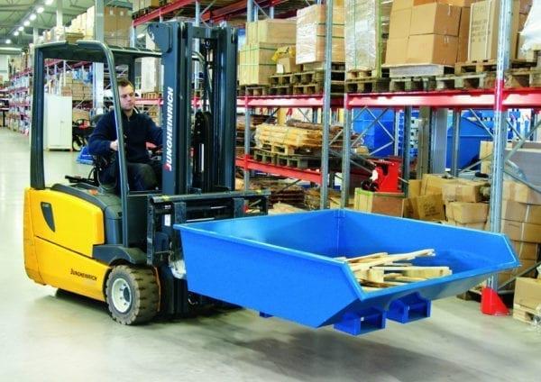 Cityramp Madal kallutav Tippo konteiner 900L