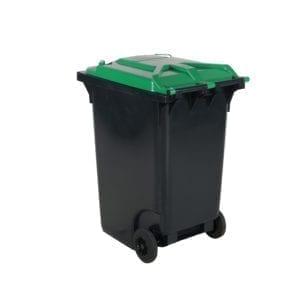 Cityramp Prügikonteiner prügikast 360L roheline