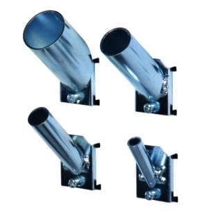 Cityramp riputuskonksud kaldus torukonks 75x16mm 2tk