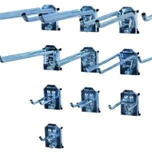 Cityramp riputuskonksud topelt konks 100x20mm 3tk