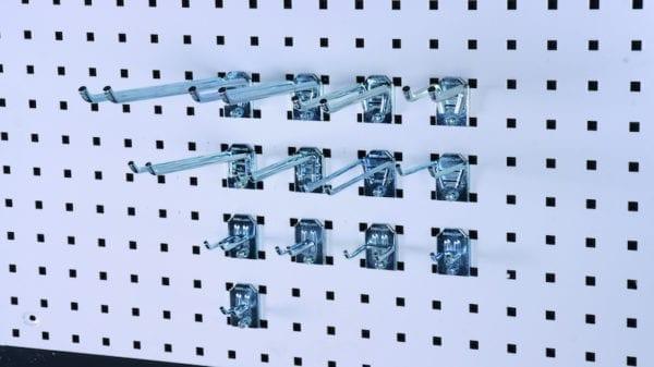 Cityramp riputuskonksud topelt konkt 64x11mm 3tk