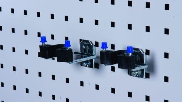 Cityramp riputuskonksud topelt konks kummiotsaga 25x40mm 2tk
