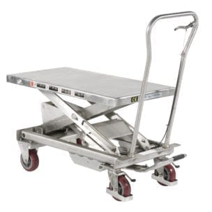 Cityramp Üles laaditud: BSS50 Stainless Lift table 500 kg
