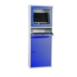 Cityramp terasplekist arvutikapp õhuke sinine
