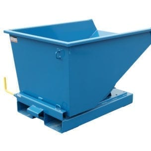 Cityramp Heavy duty tilting Tippo containers 600L