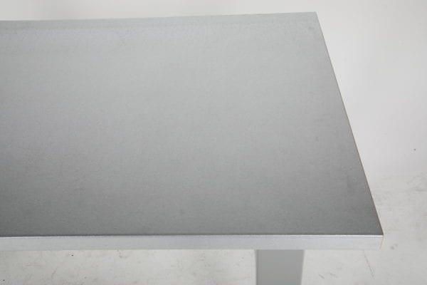 Cityramp tugev töölaud 5 sahtliga terase pinnaga 2000x800mm