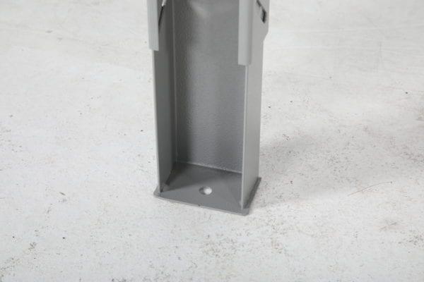 Cityramp tugev töölaud tamme pinnaga 1600x800mm