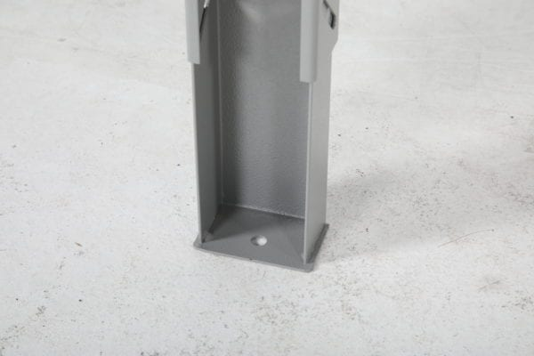 Cityramp tugev töölaud tamme pinnaga 2000x800mm