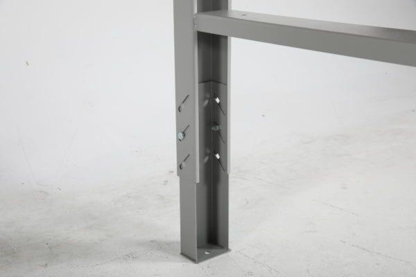 Cityramp tugev töölaud vinüül pinnaga 1600x800mm
