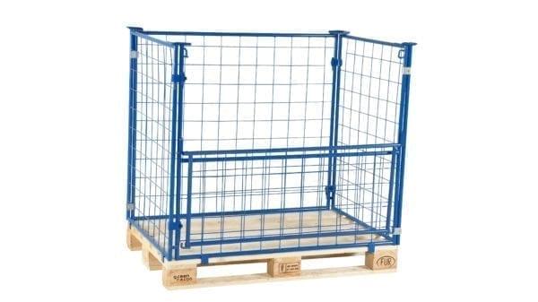 Cityramp Pallet cage 800x1200xH800mm